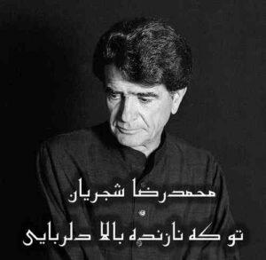 محمدرضا شجریان تو که نازنده بالا دلربایی